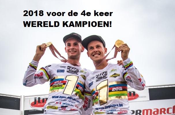 sidecarteam, Ben van den Boogaart, Marvin vanLuchene, wereldkampioen sidecar,